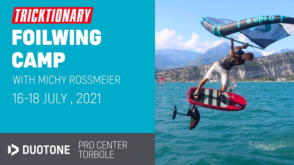 TRICKTIONARY FOILWING CAMP WITH MICHI ROSSMEIER