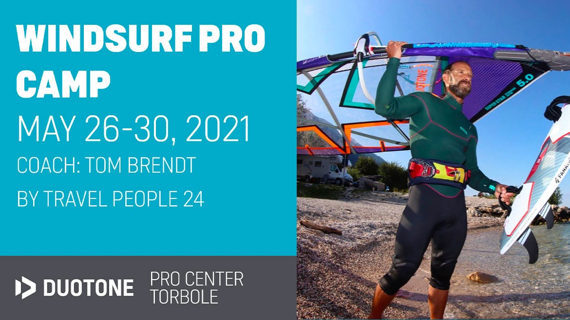 WINDSURF PRO CAMP WITH TOM BRENDT
