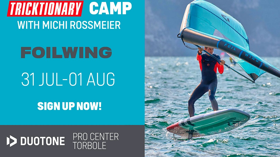FOILWING CAMP WITH MICHI ROSSMEIER